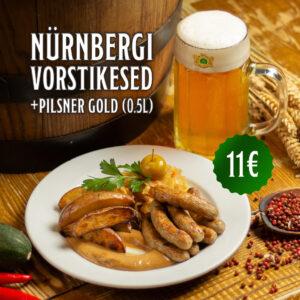 pakkumine Nürnbergi vorstid